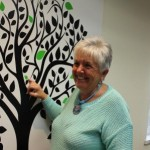 Accreditation tree and Nancy Mongeon