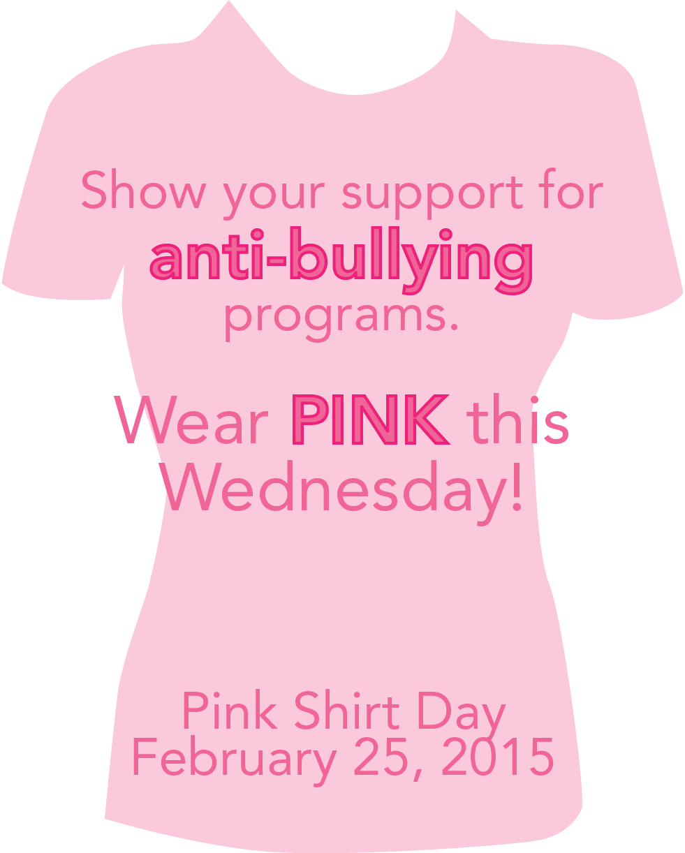 Pink Shirt Day - February 25 | Family Transition Place