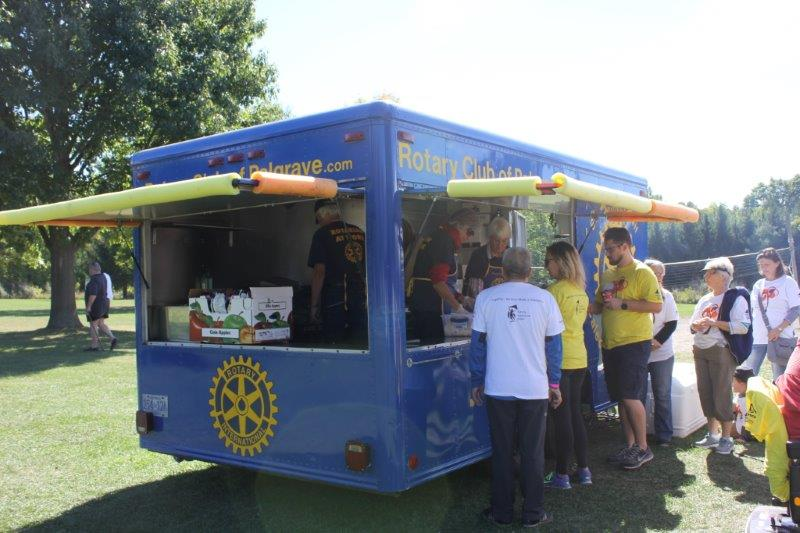 Rotary Club of Palgrave mobile BBQ