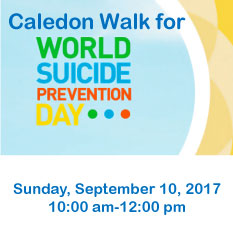 Caledon Walk for World Suicide Prevention Day