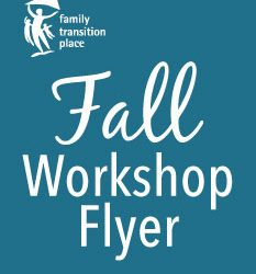 Our new fall workshop schedule is now available