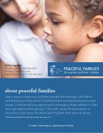 Peaceful Families spring 2018_webpost thumbnail