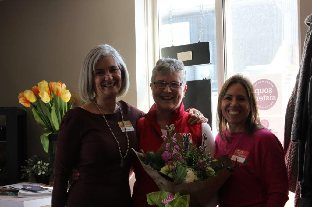 Lenora Netzke - 15 year volunteer award