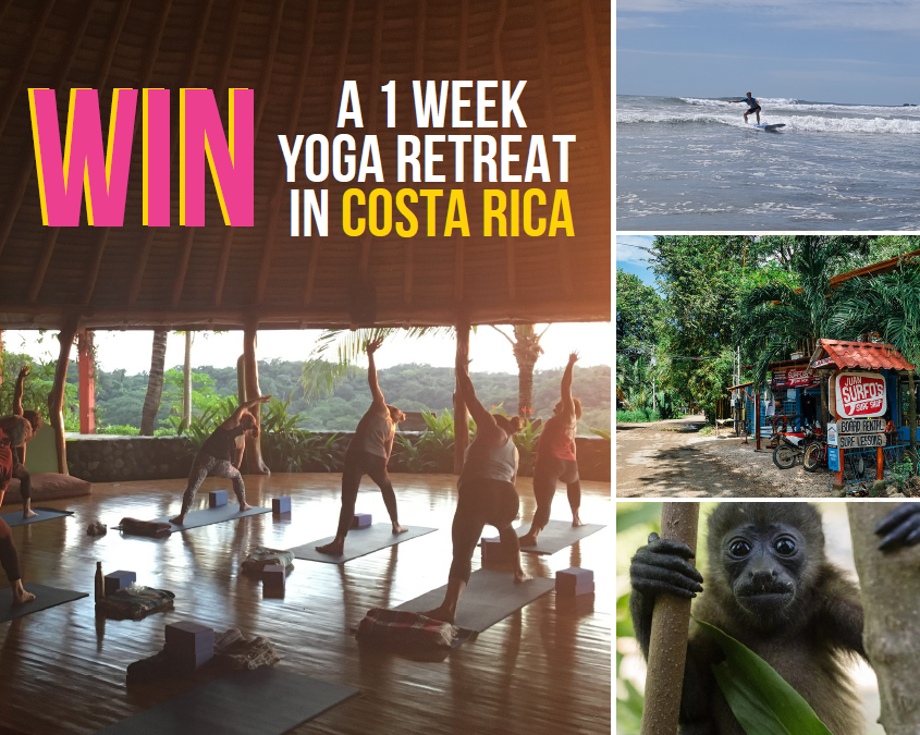 Win a week-long yoga retreat in Costa Rica!