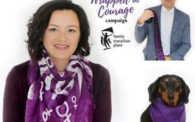 Wrapped in Courage campaign