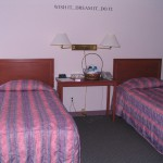 Image of one of the shelter bedrooms