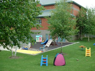 Shelter outdoor play area