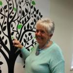 Accreditation tree and Nancy Mongeon