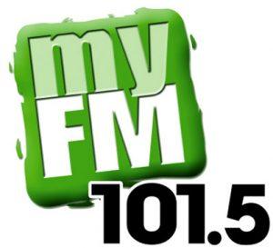 101.5 myFM Orangeville logo