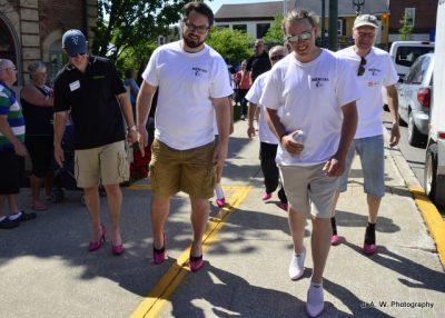 Walking participants