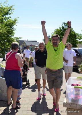 Triumphant walk finisher - Adrian Bita!