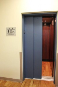 Image of LULA Lift in reception area