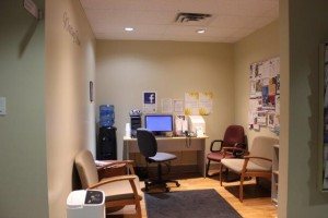 Image of Counselling waiting area