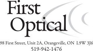 First Optical logo