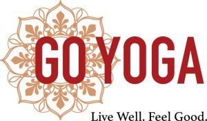 GoYoga white logo