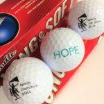 HOPE golf balls