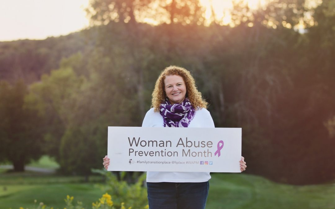 November is Woman Abuse Prevention Month