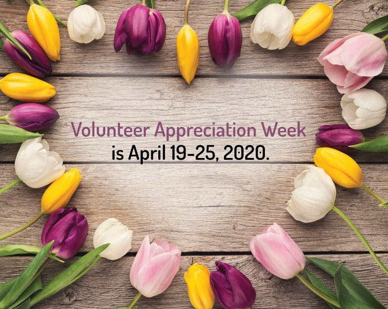 It's Volunteer Appreciation Week!