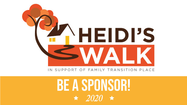 Are you interested in sponsoring Heidi's Walk?