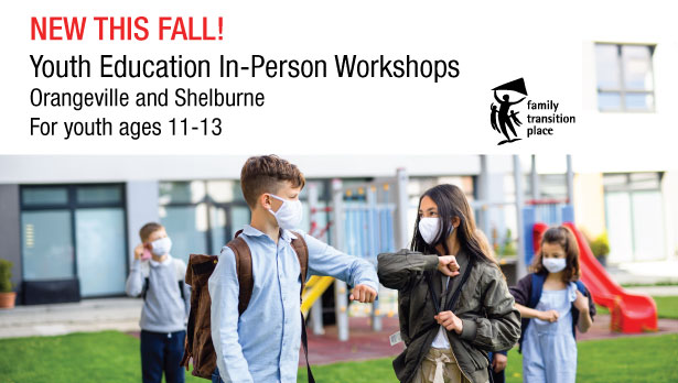 Fall In-Person Youth Education Workshops