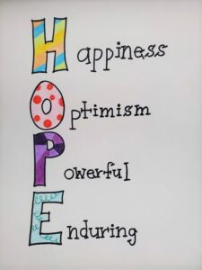 Hope poster sample 1
