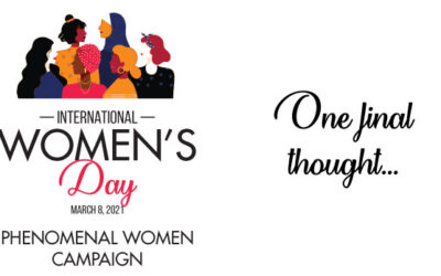 Phenomenal Women Campaign: One final thought