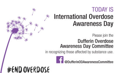 Today is International Overdose Awareness Day